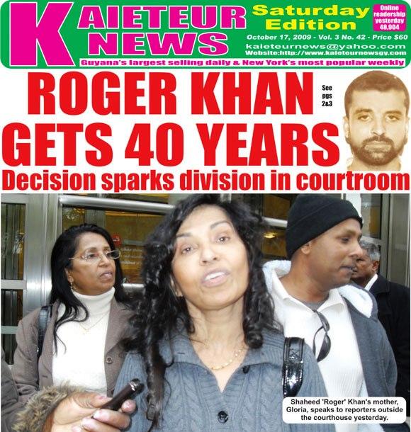 gloria khan - mother of cocaine hustler roger khan