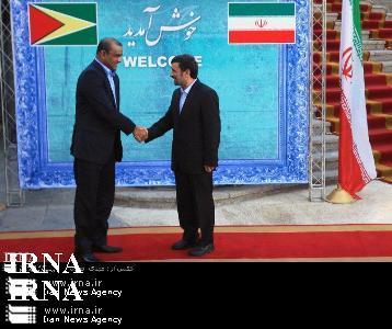 dictator to dictator - bharrat jagdeo meets Mahmoud Ahmadinejad in tehran