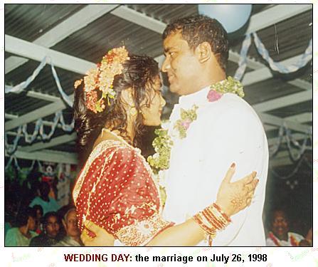 bharrat jagdeo fakes a wedding to uma varshnie singh