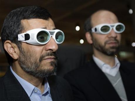 Mahmoud Ahmadinejad & Industries Minister Ali Akbar Mehrabian goes sexy in Tehran