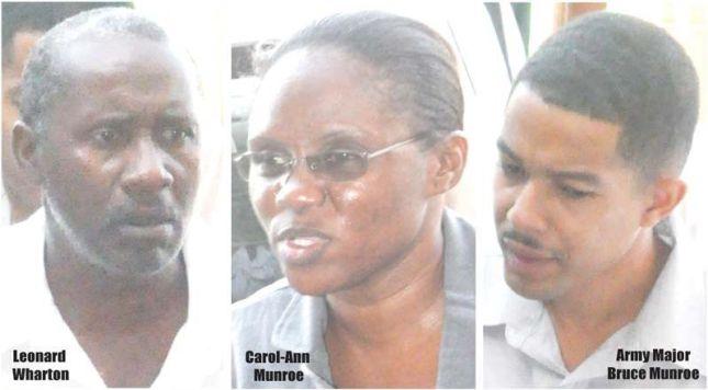 guyana´s newest political prisoners leonard wharton carol-ann munroe bruce munroe