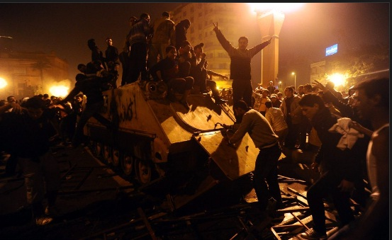 egyptians take over armoured personnel carrier