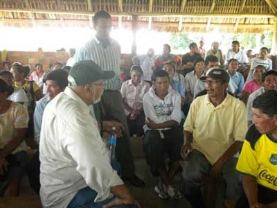 donald ramotar and his handler anchor babies minister robert persaud in lethem