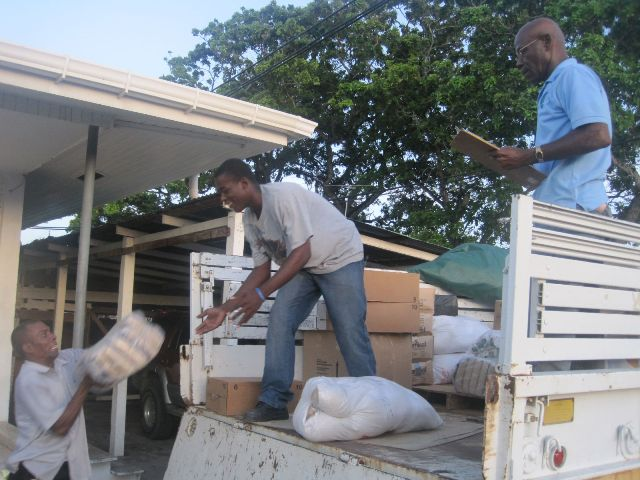 guyana govt lethem flood relief