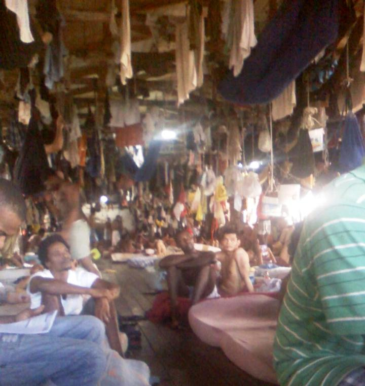 camp street prison photo inside guyana govt gulag & house of torture