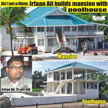 irfaan ali of baba mansion in leonora