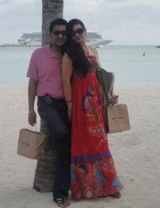 anil nandlall and his wife Sharia Yasin-Bacchus aka hessaun yassin-bacchus shopping with tax payers money