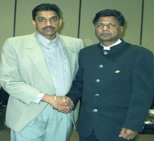 ramanand prashad & indo supremist ravi dev in the earlies