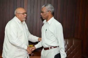 david granger and donald ramotar