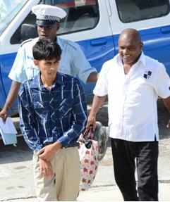 remember white shirt boy? he get charge for driving the tundra! guyana justice shitstem sweet bad