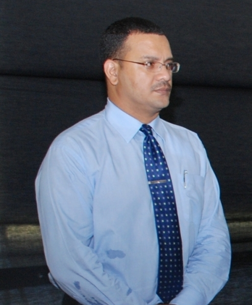 James Singh  Head of Customs Anti Narcotic Unit (CANU)  sweating like a Bitch.