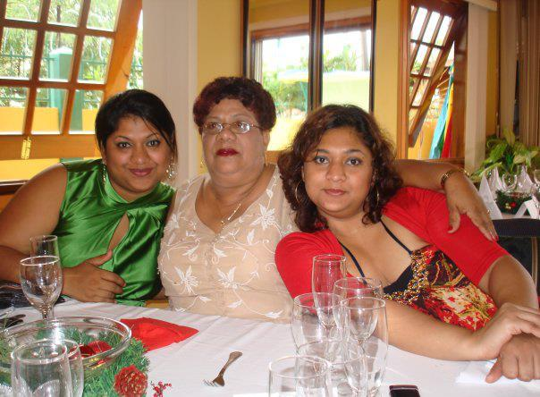 jaya, hyacinth [mum] and priya manickchand
