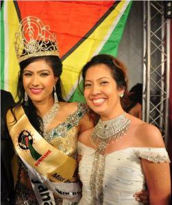 chandini ramnarain & Alana-Seebarran-after-she-won-the-Miss-India-Worldwide-pageant-in-Suriname