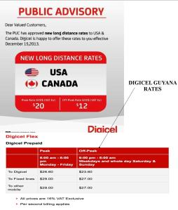 Digicel AD and Rates