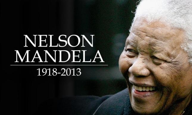 R.I.P Nelson Mandela, 1918-2013 From Propaganda Press and Followers.