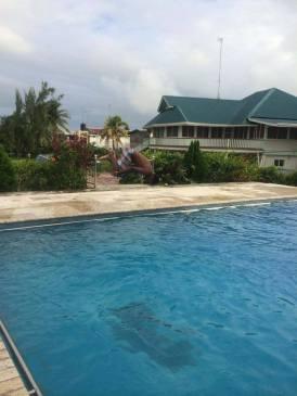 irfaan ali swimming pool