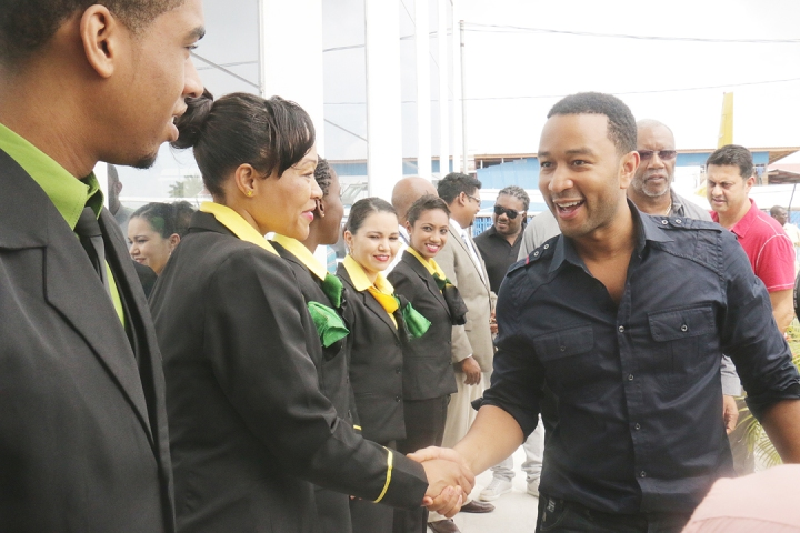 john legend in guyana sponsored by ppp crime family inc