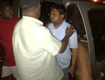 photo of drunk ashni singh before he fled crime scene