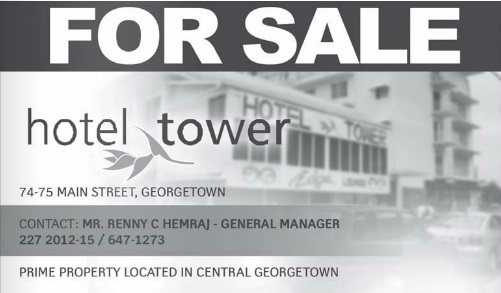 hotel tower for sale