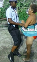 guyana police caught on camera brutalising woman in timehri