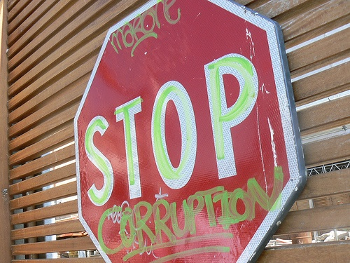 It's about time corruption to stop!.