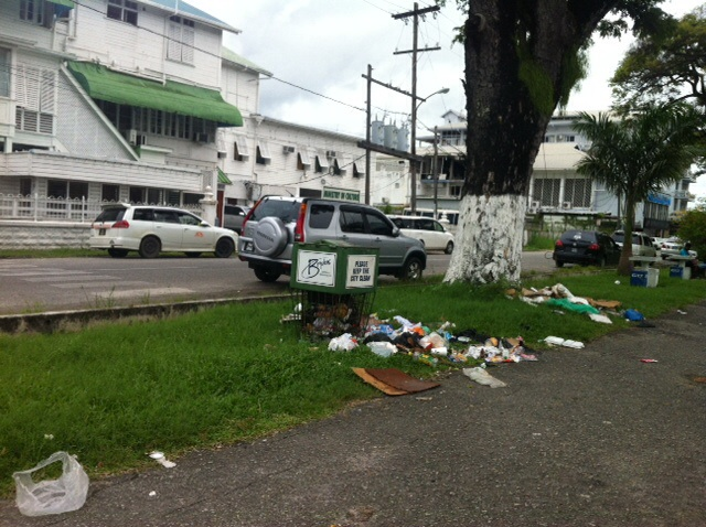 Main Street Georgetown Guyana