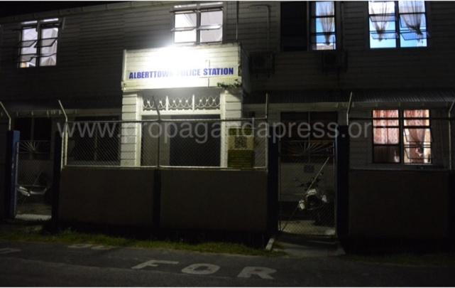 albertown police station guyana 3