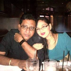 anil nandlall and his wife Sharia Yasin-Bacchus