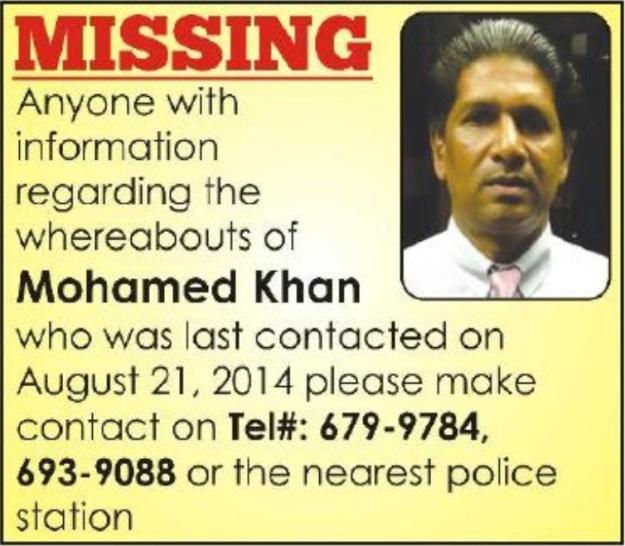 MFK Missing