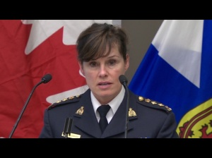 Chief Supt. Marlene Snowman, the officer in charge of criminal operations for the Nova Scotia RCMP, said hundreds of officers worked thousands of hours on the two-year drug investigation. (CBC)