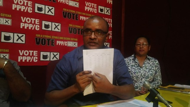 bharrat jagdeo at freedumb house disputing eections 2015 results