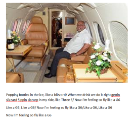 former president ramotar was a regular guest on board