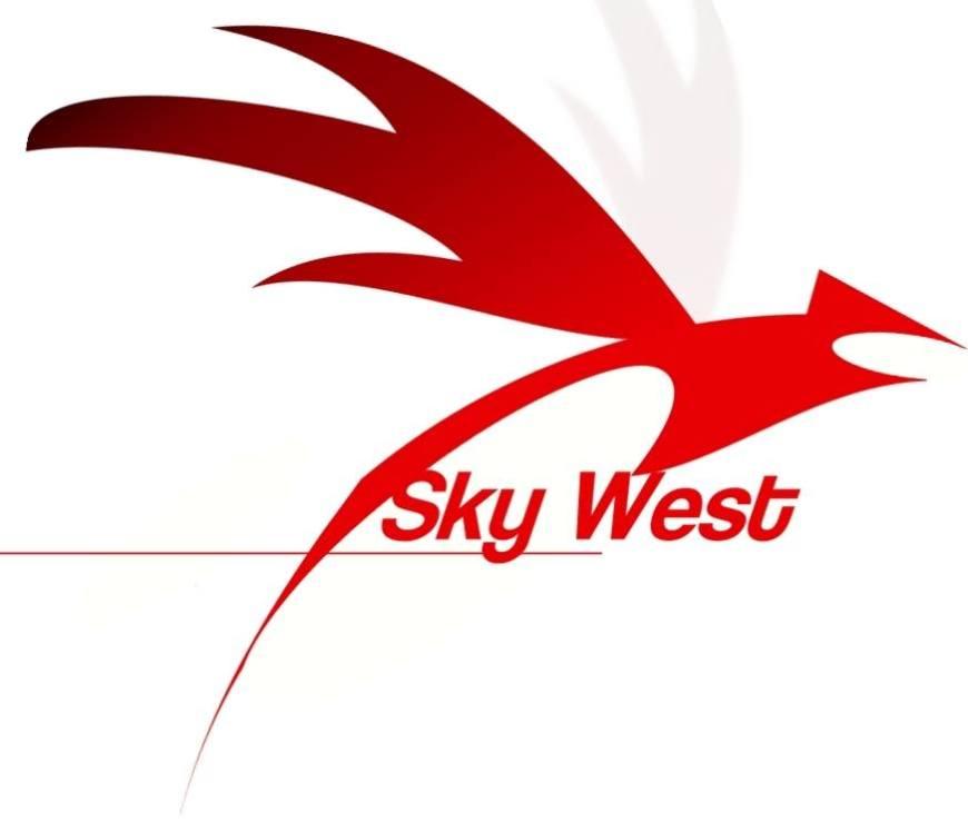 sky west charter logo